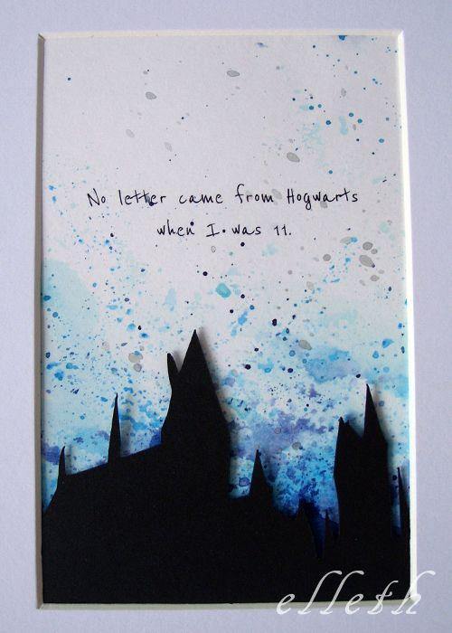 Gdy list z Hogwartu nie dotrze – zostaje wyobraźnia! | Wycinarnia