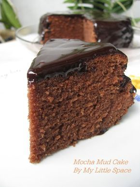 My Little Space: Mocha Mud Cake