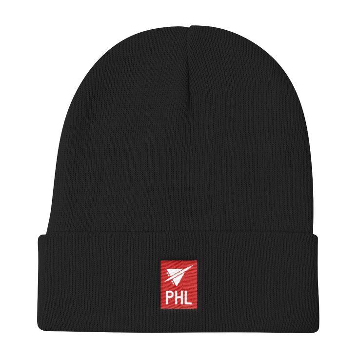 PHL Philadelphia Airport Code Beanie