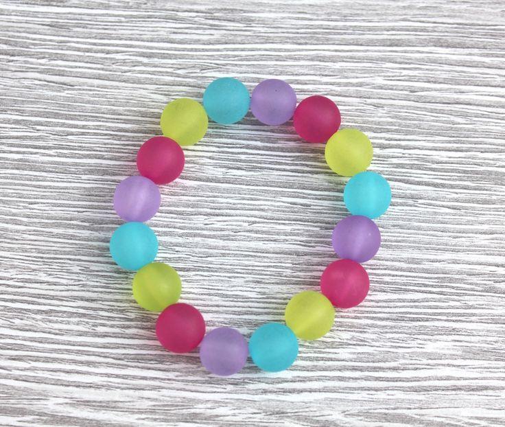 Teesh Frosted Rainbow Bracelet