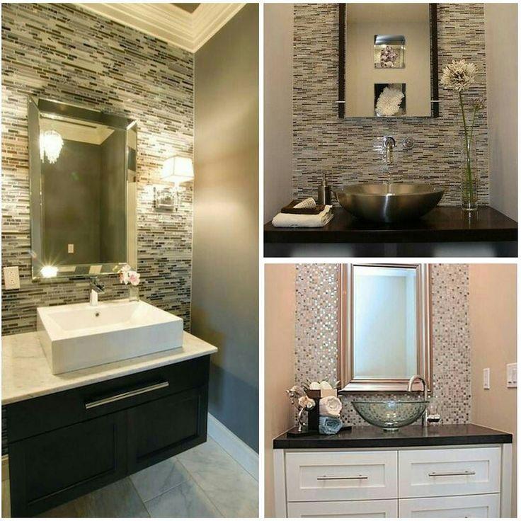 Сейчас существует очень много различных материалов для отделки стен и пола в ванных комнатах  помимо классического применения плитки. И также само оформление стен и полов настолько разнообразно здесь также комбинируют между собой различные текстуры  формы и фактуры. Главное  чтобы все материалы были влагоустойчивые и применимы к данному помещению. Это очень важно! В данном случае использована мозайка и влагостойкая  краска для стен!  #inspiration #interior #design #decor #interior_design…