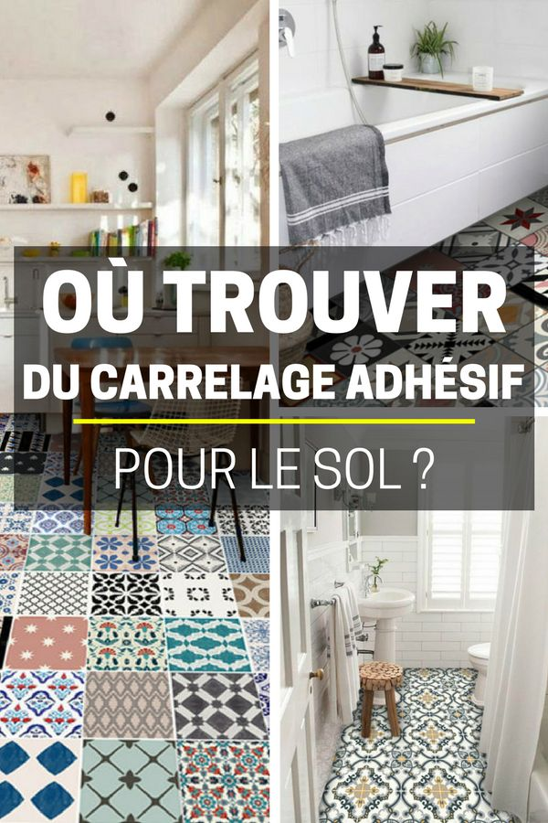 les 25 meilleures id es de la cat gorie carrelage adhesif sur pinterest carrelage adh sif. Black Bedroom Furniture Sets. Home Design Ideas