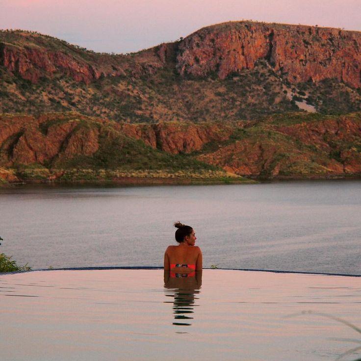 Infinity Pool at Lake Argyle, Western Australia