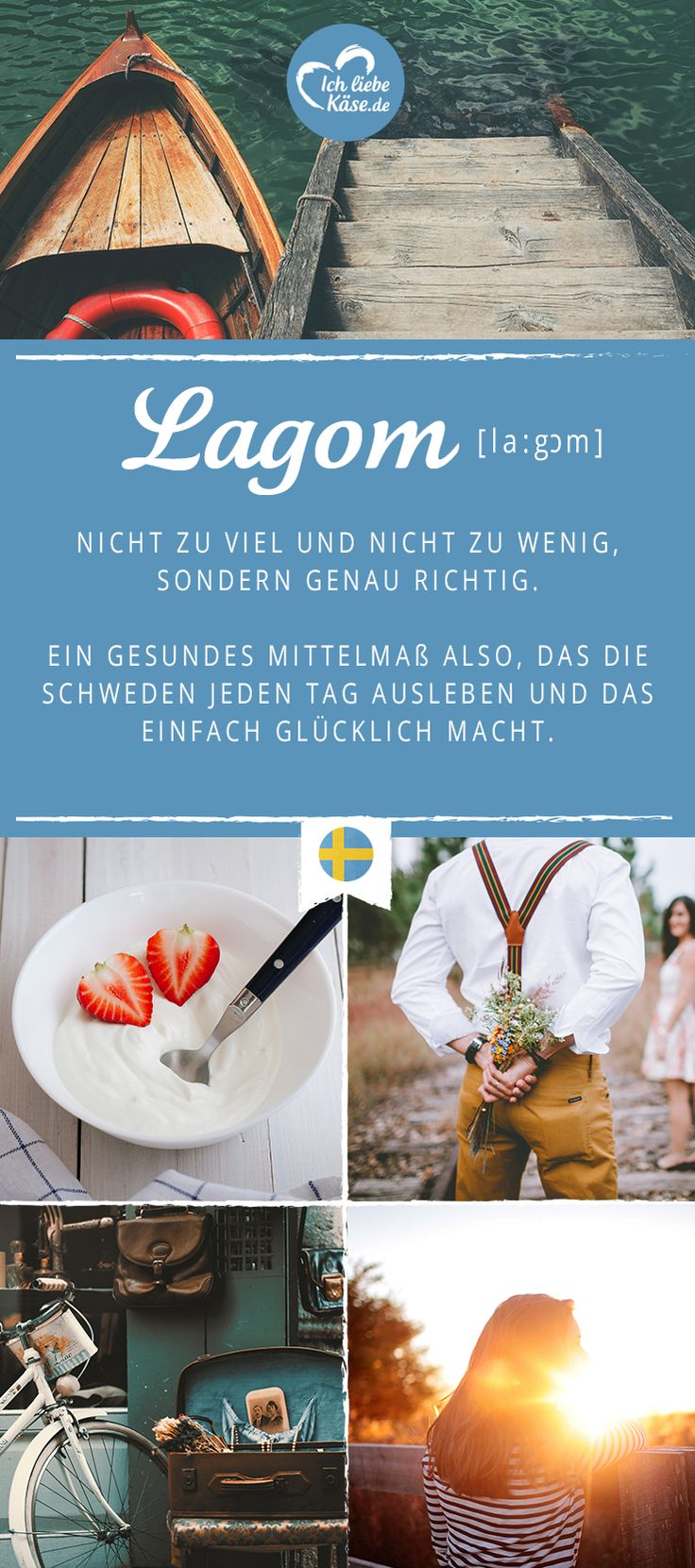 Nach der Definition von Lagom würden wir den Sommer auch am liebsten in Schweden verbringen. Klickt für viele tolle Rezepte für Körper und Seele. <3
