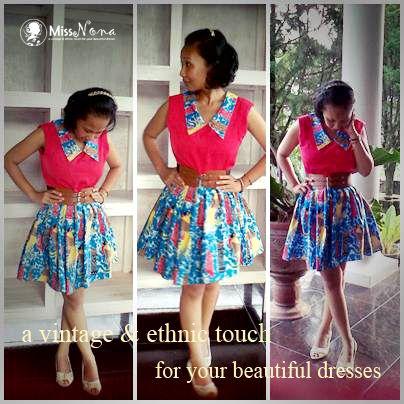 Batik Papua Dress