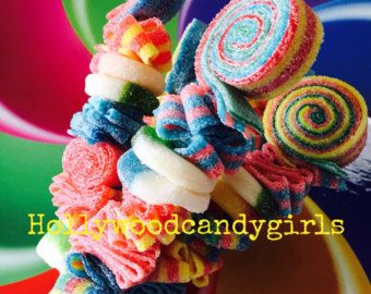 Sweet Stick Candy Kabob Skewers by HollywoodCandyGirls on Etsy