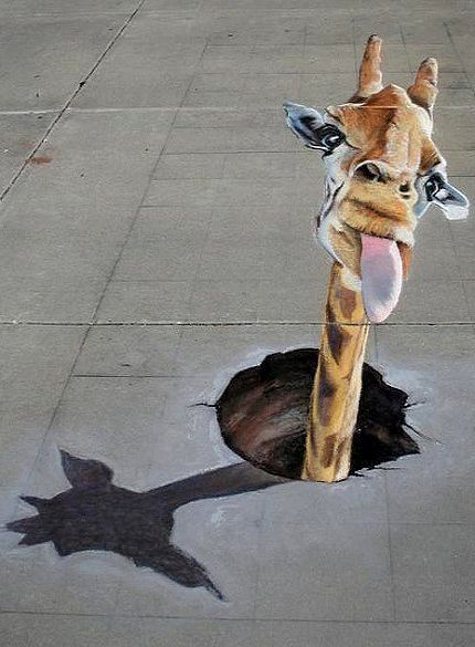 Gazette - giraffe popping head out of ground | by Rouse66