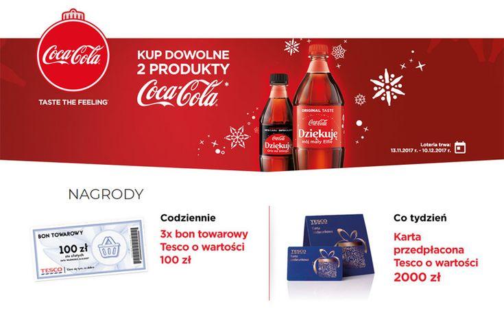 Świąteczna loteria Coca-Cola w Tesco   Zgarniajto.pl