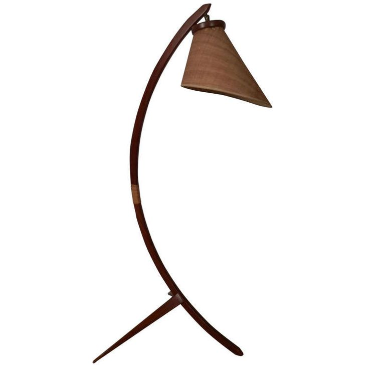 Splendid Danish Arch Floor Lamp | From a unique collection of antique and modern floor lamps  at http://www.1stdibs.com/furniture/lighting/floor-lamps/