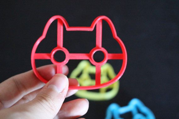Steven Universe Cookie Cat 3D printed Cookie Cutter by Meow3DStore