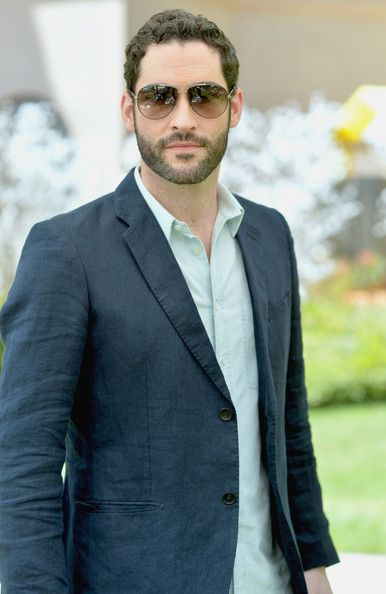 Actor Tom Ellis attends NBCUniversal's Summer Press Day at Langham Hotel on April 8, 2014 in Pasadena, California.