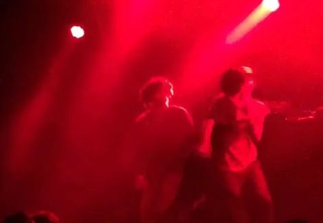 Earl Sweatshirt Punches Stage Crasher In Sydney- http://getmybuzzup.com/wp-content/uploads/2015/07/486876-thumb.png- http://getmybuzzup.com/earl-sweatshirt-punches-stage/- By Kyle Fall Earl Sweatshirt is currently overseas kicking off his The 2015 Ready To Leave Now Tour, and during a performance in Sydney, Australia, a fan came up from behind the Odd Future rapper and tried to grab the microphone from him in the middle of a song. Clearly surprised and upset, Earl...- #EarlSw