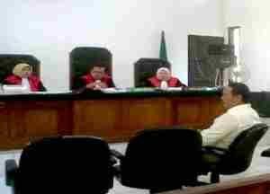 update PN Depok Sidang Kader PDIP Terdakwa Pelanggar Pemilu