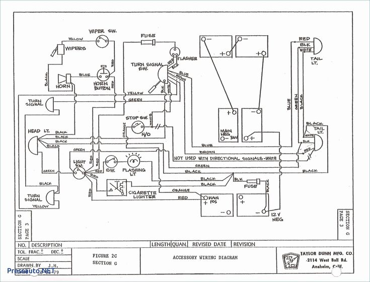 Club Car 36 Volt Wiring Diagram Free Wiring Diagram In 2020