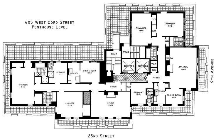 The Penthouse Unfurnished Terrace Floor Floor Plans