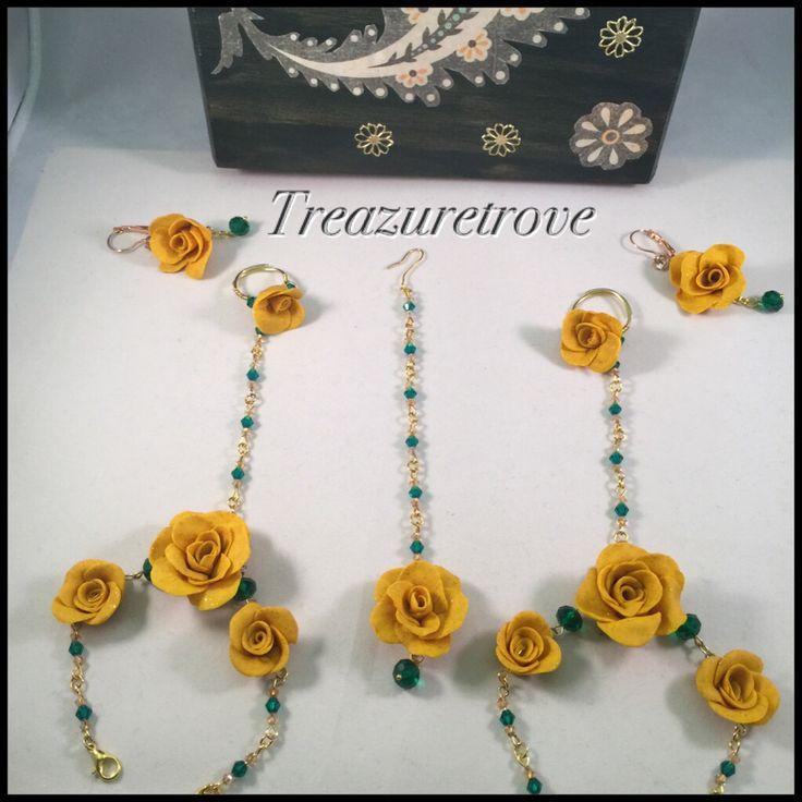 Mehndi Flower Jewelry Houston : Best ayesha s dholki images on pinterest floral