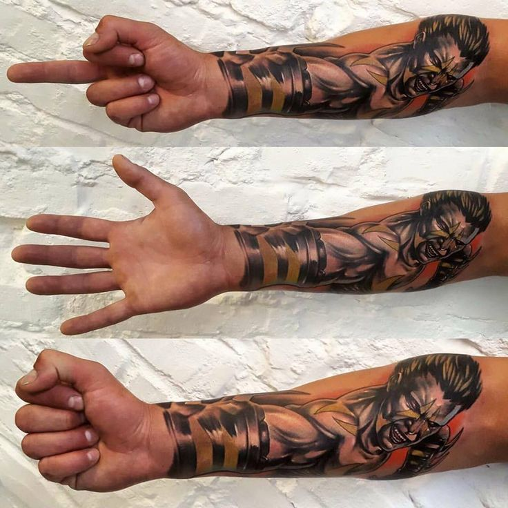 forearm tattoo, tattoo on man, 77 ink