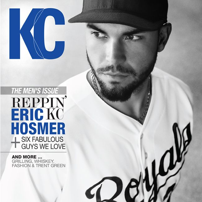 The new KC Magazine issue is on newsstands now - featuring our wonderful cover model, Eric Hosmer of the Kansas City Royals. Go #KC!  Link up to the full issue in our Digital Edition page: http://www.thisiskc.com/