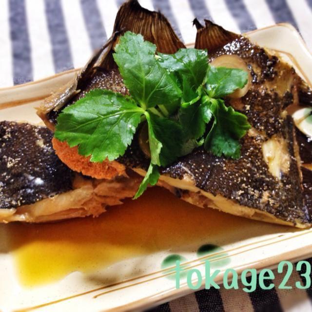大きなカレイの切り身が安かったので作りました☆≡。゚. 白身魚大好きー\\\\٩( 'ω' )و ////!! - 107件のもぐもぐ - かれいの煮付け by とかげ_(:3 」∠ )_