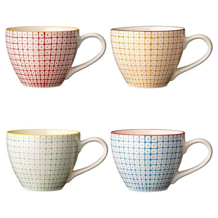 Tasse à thé Carla imprimée - Bloomingville