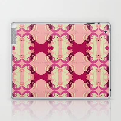 Splash Laptop & iPad Skin by Helena Hotzl - $25.00