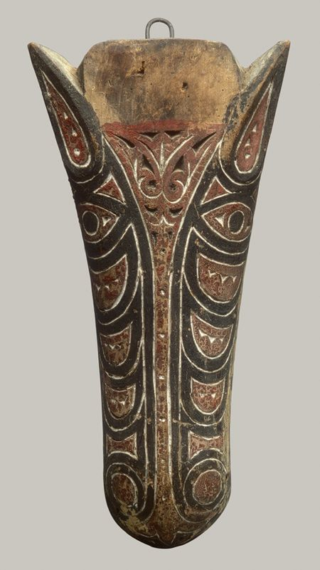 Architectural Ornament, late 19th–early 20th century Toba Batak people, Sumatra, Indonesia Wood, paint