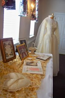 50th wedding anniversary memory table  Is it greedy to want to do it at 25 yrs and 50 yrs?