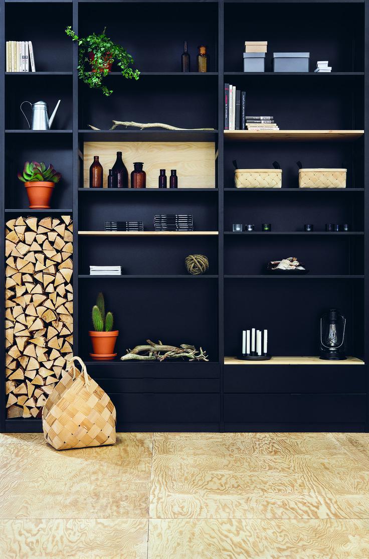 Black Lundia Classic shelf
