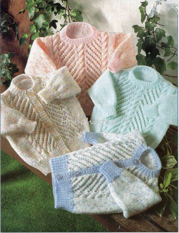 Baby Knitting Pattern Childrens Knitting Pattern by Hobohooks