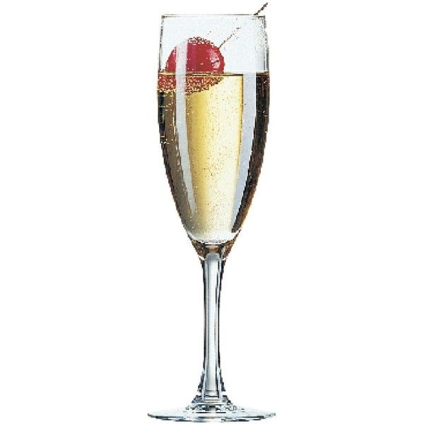 Arcoroc Princesa Champagne Flutes 150ml - CJ451 - Buy Online at... ❤ liked on Polyvore featuring home, kitchen & dining and drinkware