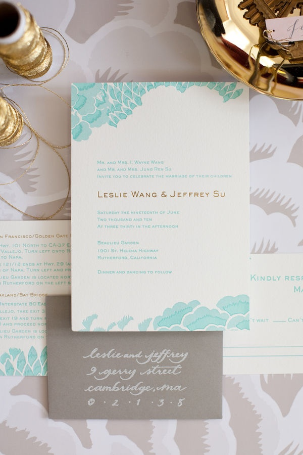 wedding invitations from michaels crafts%0A Napa Valley Wedding by Lisa Lefkowitz  something blue invitations