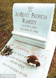 JonBenét Patricia Ramsey - Murder Victim. She was a 6-year-old Little Miss beauty pageant winner who was murdered in her home on Christmas day 1996, in one of the most high-profile child homicides in recent history. Her numerous award titles include 'Little Miss Colorado,' 'National Tiny Miss Beauty,' and 'Little Miss Christmas.'