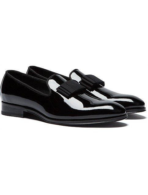 Black Tuxedo Shoe Fw152560 | Suitsupply Online Store