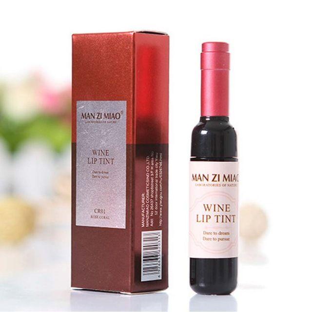 Liphop Красное Вино Пятно Оттенок Губ Влажность Долгое Блеск Для Губ Водонепроницаемый Поцелуй Матовый Помада Макияж