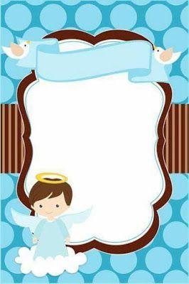 Moldes y tutorial para hacer angelitos de bautizo y primera comunión ~ Haz Manualidades