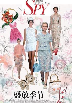 Illustration, illustrators Agents, Reps in London, New York, Paris, Hamburg, Shanghai,: Vogue China