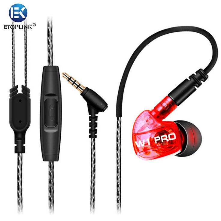 Find More Earphones & Headphones Information about GLAUPSUS W1 Pro Sports Earphones HIFI Deep Bass Headphones Stereo Waterproof Headset With Mic + Detachable Cables,High Quality headset cushion,China headset pink Suppliers, Cheap headset hs850 from Guangzhou Etoplink Co., Ltd on Aliexpress.com