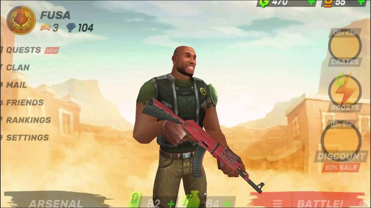 Guns of Boom ONLINE SHOOTER Game 1 - Guns of Boom is a Android Free-to-play First Person Shooter FPS Multiplayer Game featuring easy intuitive controls and awesome graphics for immersive gameplay