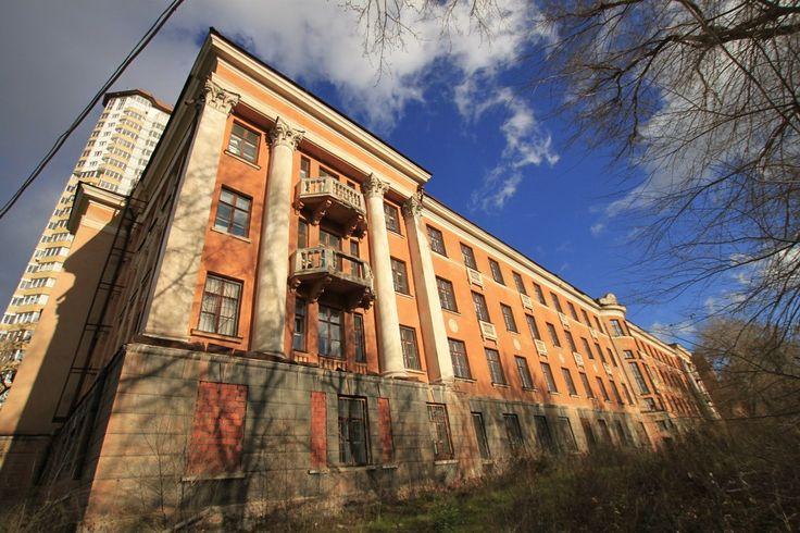 Заброшенная дорожная больница Екатеринбург