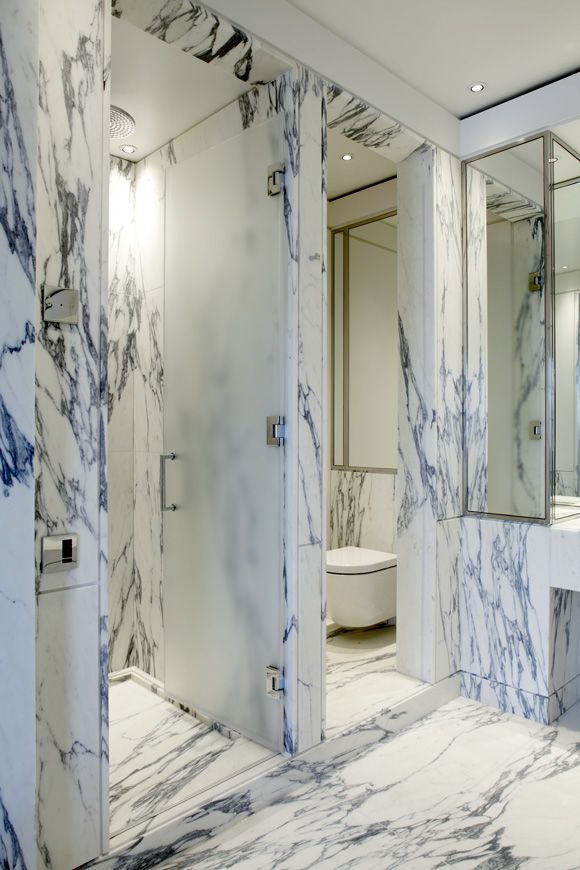 EATON PLACE #marble #interiordesign #luxury #bathroom