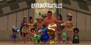 Raven Tales: children's programming about First Nations culture. Great for teaching about FN culture, world view, spirituality, day-to-day life, etc