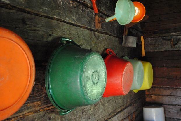 Traditional, old finnish sauna