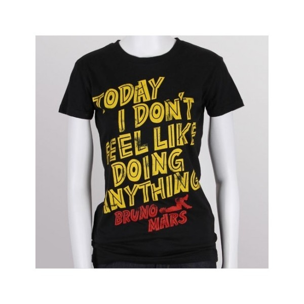 Bruno Mars - Women's Anything T-Shirt found on Polyvore