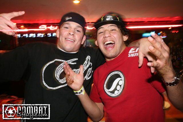 Nate Diaz and Gilbert Melendez