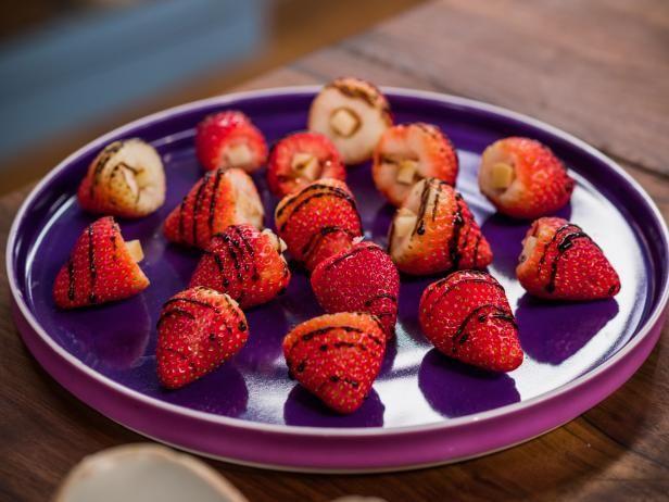 Parmesan-Stuffed Strawberries   Recipe in 2019   Appetizers