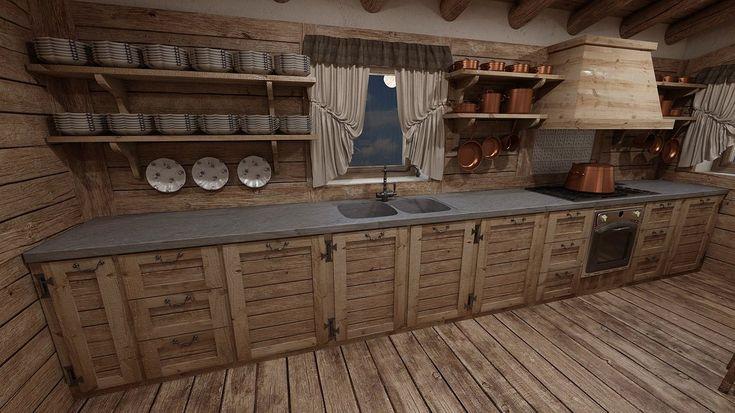 cucina arredamento montagna - Cerca con Google