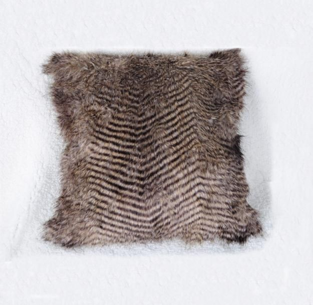 Benjie Faux Fur Cushion - Pin for Inspo!