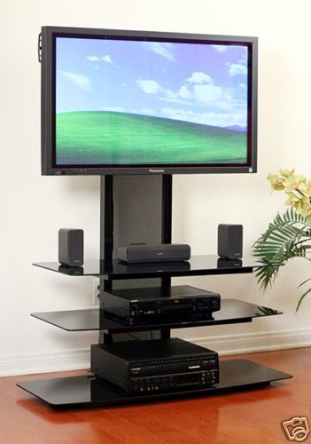 TransDeco LED/LCD TV Stand /mount 42 45 48 50 52 55 60 65 inch LCD LED TV NEW #TransDeco #TVStand