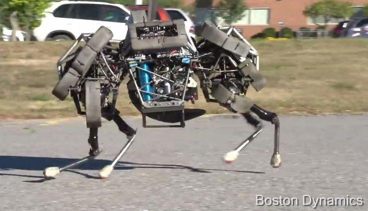 boston dynamics   Boston Dynamics' WildCat Robot (credit: screenshot by Stephen ...