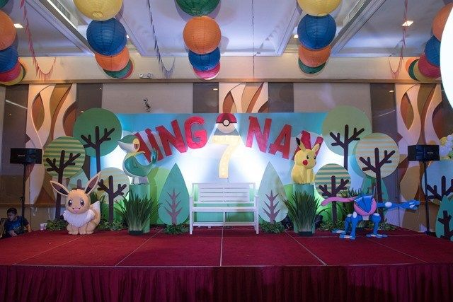 Ying Nan's Pokemon Themed Party – Stage
